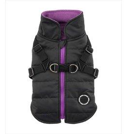 PUPPIA PUPPIA Mountaineer Coat II with Harness Black