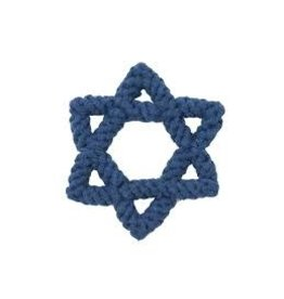 Jax & Bones GOOD KARMA Star of David Rope Toy