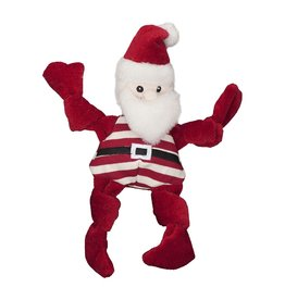 Hugglehounds HUGGLEHOUNDS Knottie Candy Cane Santa Toy