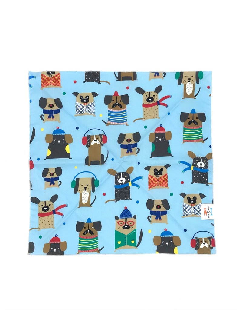 FISH & BONE THE FISH & BONE Winter Dogs Bandana