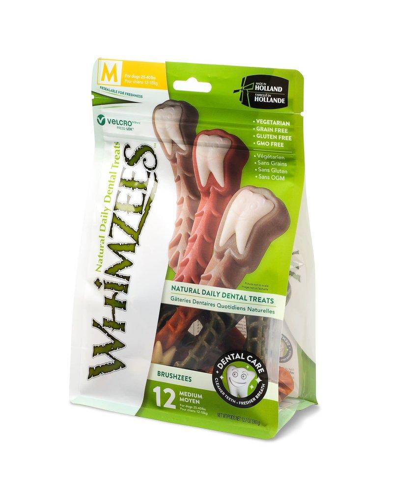 Whimzees WHIMZEE Dog Brushzees Medium 12.7 oz.