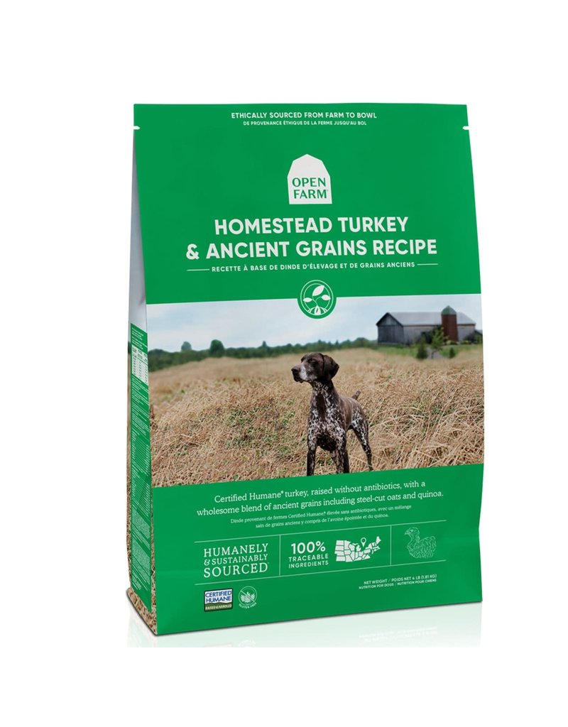 Open Farm OPEN FARM Ancient Grains Homestead Turkey Dry Dog Food