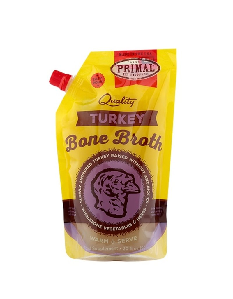 Primal Pet Foods PRIMAL Bone Broth Turkey 20oz