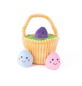 Zippy Paws ZIPPYPAWS Easter Egg Basket Burrow