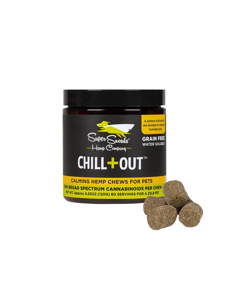 Super Snout Hemp SUPER SNOUTS Full Spectrum CBD Chew Chill + Out