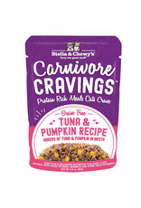 Stella & Chewys STELLA & CHEWY'S Carnivore Cravings Tuna & Pumpkin Cat Food Pouch 2.8 oz