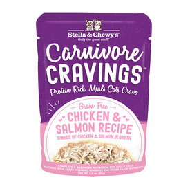 Stella & Chewy's STELLA & CHEWY'S Carnivore Cravings Chicken & Salmon Cat Food Pouch