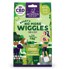 AUSTIN & KAT AUSTIN & KAT Bailey's No More Wiggles 10mg Full Spectrum CBD Functional Biscuits 30ct