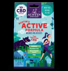 AUSTIN & KAT AUSTIN & KAT Austin's Active 10mg Full Spectrum CBD Functional Biscuits 30ct