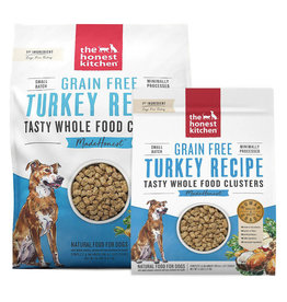 Honest Kitchen HONEST KITCHEN Whole Food Clusters Grain Free Dry Dog Food Turkey