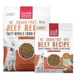 Honest Kitchen HONEST KITCHEN Whole Food Clusters Grain Free Dry Dog Food Beef
