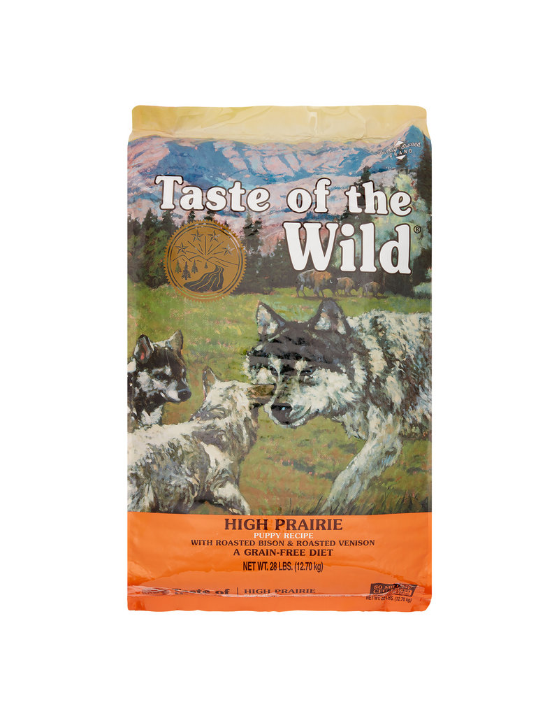 TASTE OF THE WILD TASTE OF THE WILD High Prairie Puppy Grain-Free Dry Dog Food