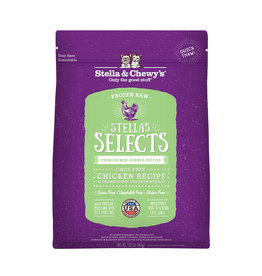 Stella & Chewy's STELLA & CHEWY'S Stella's Select Frozen Raw Chicken Dinner for Cats 1 lb.