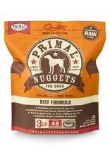 Primal Pet Foods PRIMAL Raw Frozen Canine Beef Formula  3 lb.