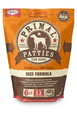 Primal Pet Foods PRIMAL Raw Frozen Canine Beef Formula  6 lb.