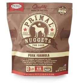 Primal Pet Foods PRIMAL Raw Frozen Canine Pork Formula  3 lb.