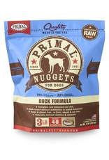 Primal Pet Foods PRIMAL Raw Frozen Canine Duck Formula  3 lb.