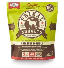 Primal Pet Foods PRIMAL Raw Frozen Canine Pheasant Formula  3 lb.