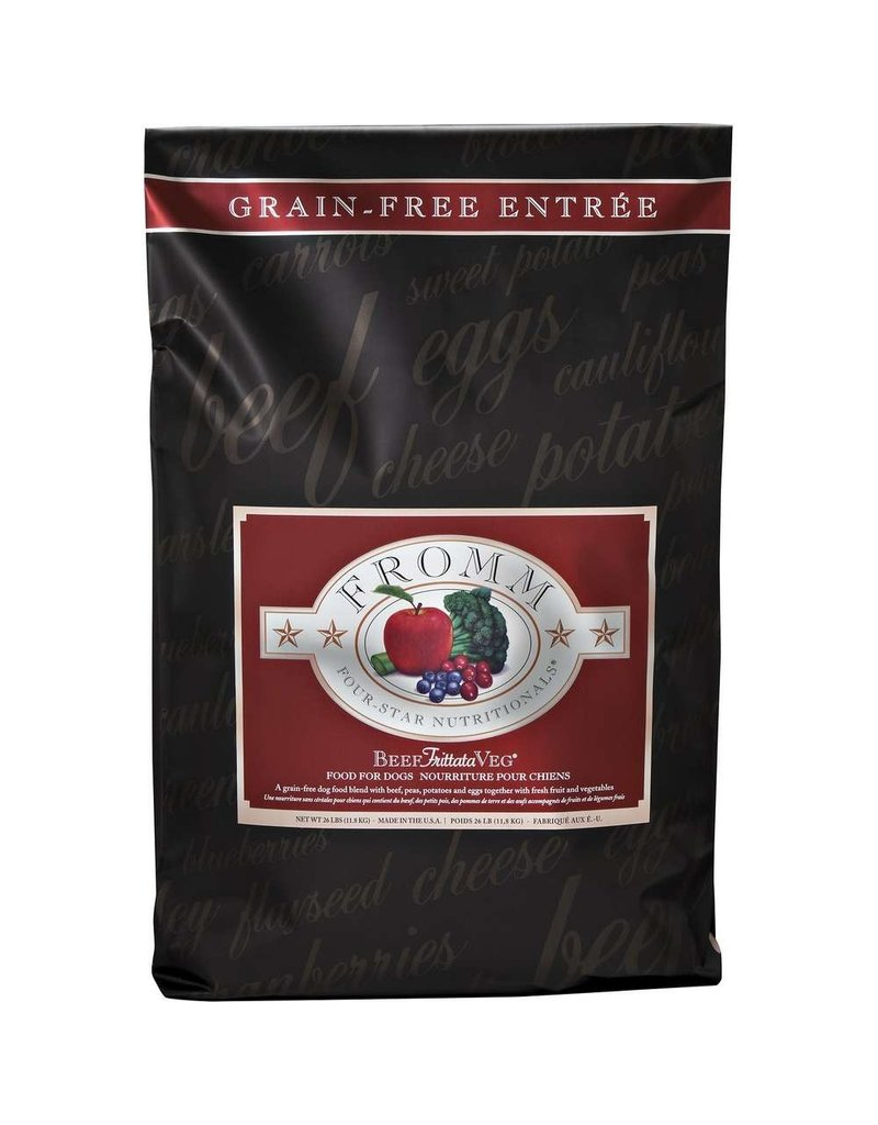 Fromm FROMM 4 STAR Grain-Free Beef Frittata Dry Dog Food