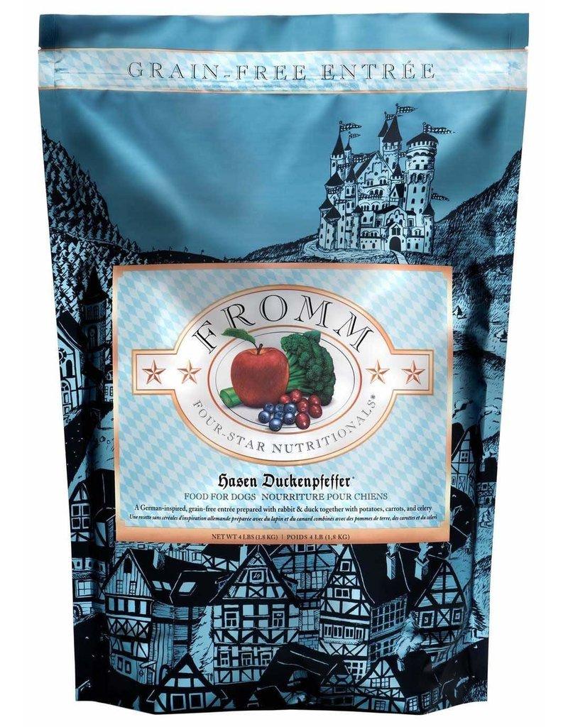 Fromm FROMM 4-Star Grain-Free Hasen Duckenpfeffer Dry Dog Food