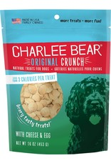 Charlee Bear CHARLEE BEAR Dog Treats Cheese & Egg 16oz