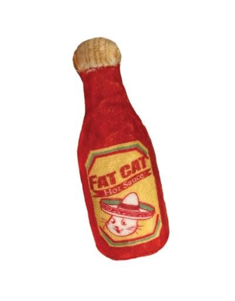 Kittybelles KITTYBELLES Fat Cat Hot Sauce Plush Cat Toy