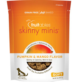 FRUITABLES FRUITABLES Skinny Minis Dog Treats Pumpkin & Mango 5 oz