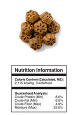 FRUITABLES FRUITABLES Skinny Minis Dog Treats Pumpkin & Mango 5 oz