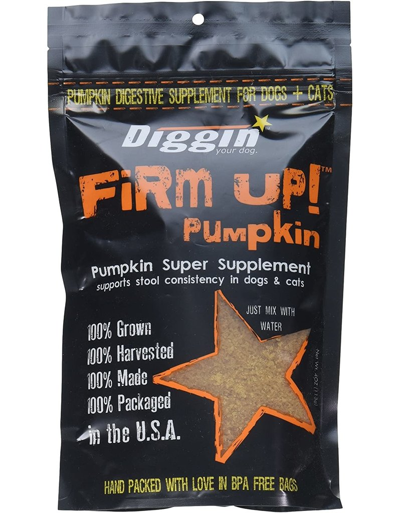 Diggin Your Dog DIGGIN YOUR DOG Firm Up Dehydrated Pumpkin Supplement