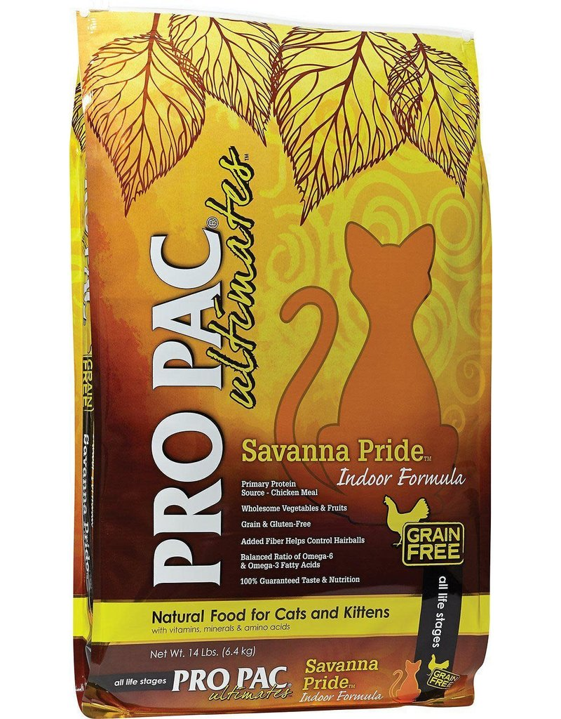 Pro Pac PRO PAC Savannah Chicken Indoor Dry Cat Food