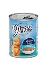 JM Smuckers Company NINE LIVES Chicken & Tuna Case 12/13oz
