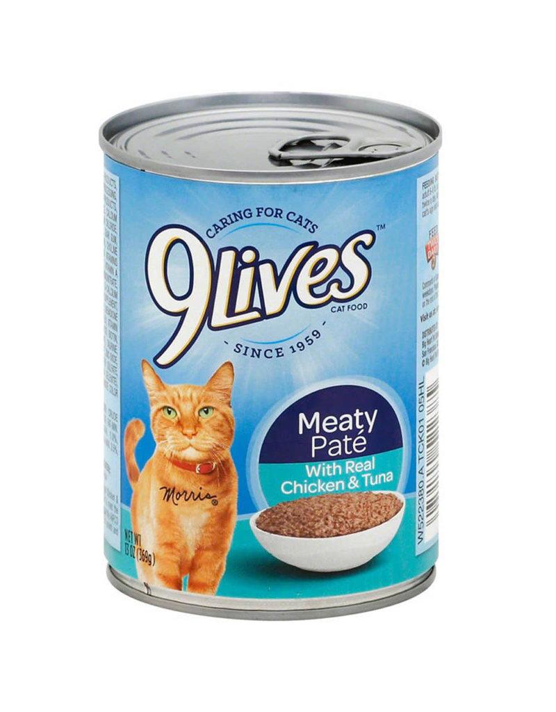 JM Smuckers Company 9LIVES Chicken & Tuna Case 12/13oz