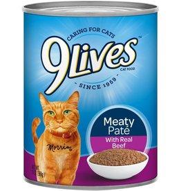 JM Smuckers Company 9LIVES Beef Dinner Case 12/13oz