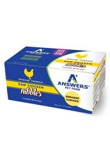 Answers ANSWERS Frozen Raw Canine Detailed Chicken 2.2 Nibbles