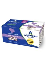 Answers ANSWERS Frozen Raw Canine Detailed Turkey 2.2 lb Nibbles