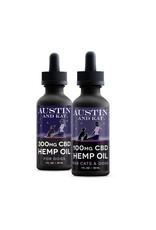 AUSTIN & KAT AUSTIN & KAT Full Spectrum CBD Hemp & Salmon Oil