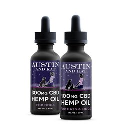 AUSTIN & KAT AUSTIN & KAT Full Spectrum CBD Hemp & Salmon Oil