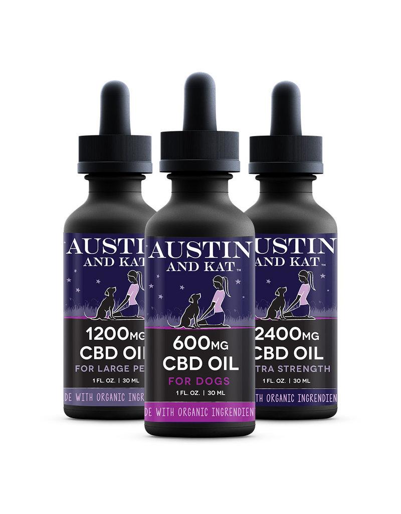 AUSTIN & KAT AUSTIN & KAT Organic Extra Strength CBD Oil for Pets