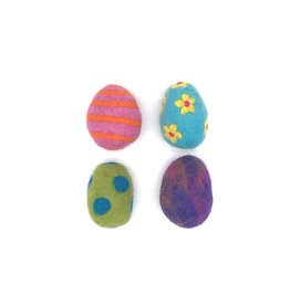 KARMA CAT KARMA CAT Felt Easter Egg Cat Toy