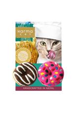 KARMA CAT KARMA CAT 2-pack Donuts Felt Cat Toys