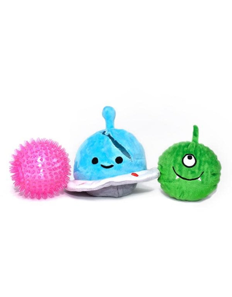 PATCHWORK PET PATCHWORK PET Prickles Spaceship with Alien