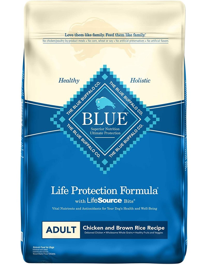 Blue Buffalo BLUE BUFFALO Chicken and Brown Rice Dry Dog Food