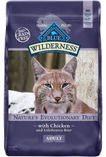 Blue Buffalo BLUE BUFFALO Wilderness Grain-Free Chicken Dry Cat Food
