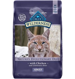 Blue Buffalo BLUE BUFFALO Wilderness Grain-Free Chicken Dry Cat Food