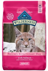 Blue Buffalo BLUE BUFFALO Wilderness Grain-Free Salmon Dry Cat Food