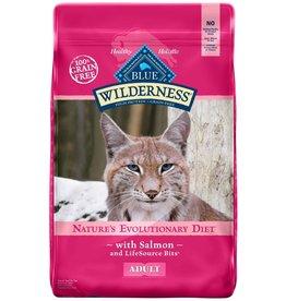 Blue Buffalo BLUE BUFFALO Wilderness Grain-Free Salmon Dry Cat Food