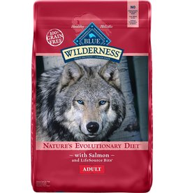 Blue Buffalo BLUE BUFFALO Wilderness Grain-Free Salmon Dry Dog Food