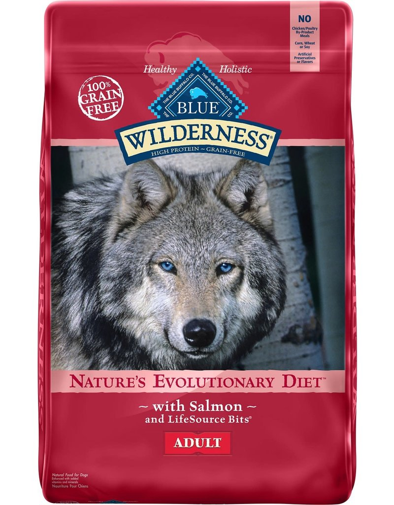 Blue Buffalo BLUE BUFFALO Wilderness Grain-Free Salmon Dry Dog Food