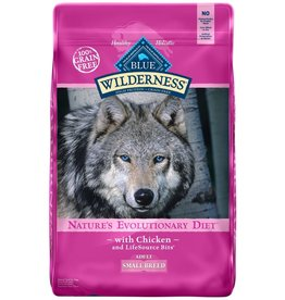 Blue Buffalo BLUE BUFFALO Wilderness Grain-Free Small Breed Chicken Dry Dog Food