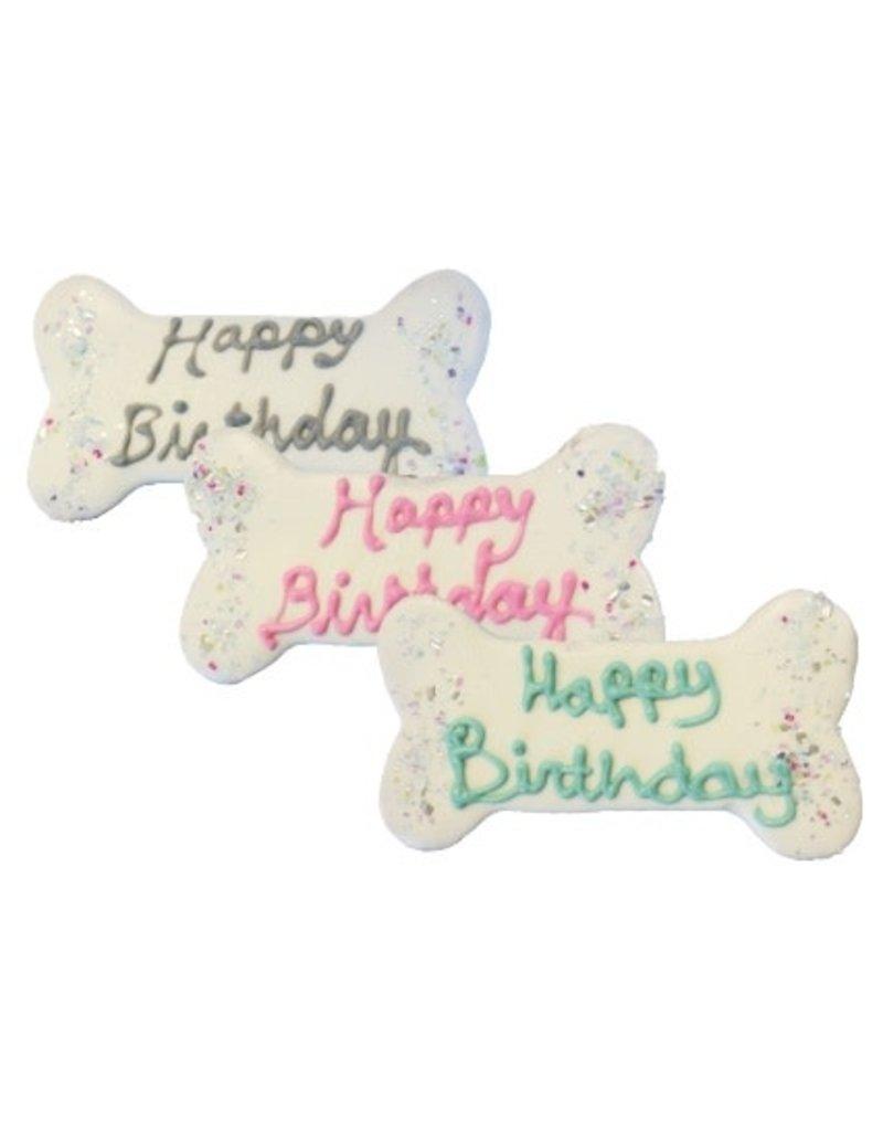 Preppy Puppy Bakery Birthday Bones Cookie